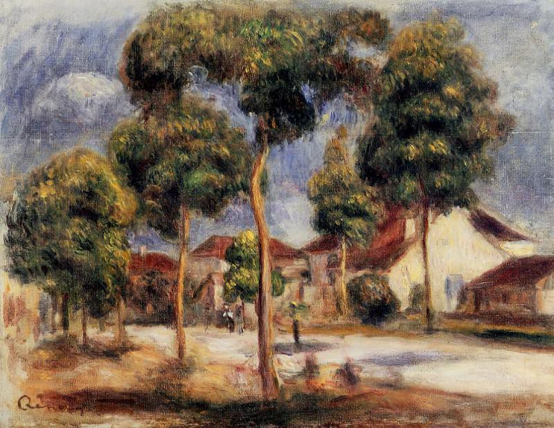 The Sunny Street - 1900. Pierre-Auguste Renoir