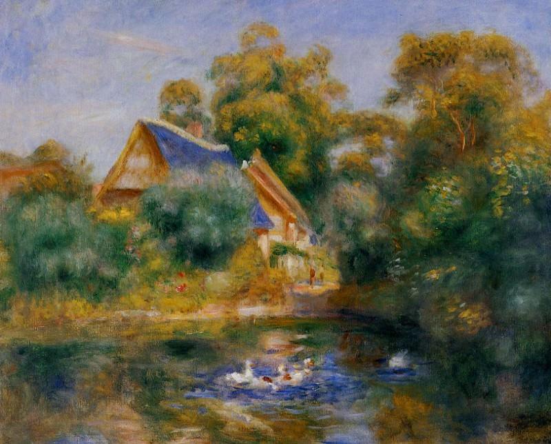 La Mere aux Oies - 1898. Pierre-Auguste Renoir