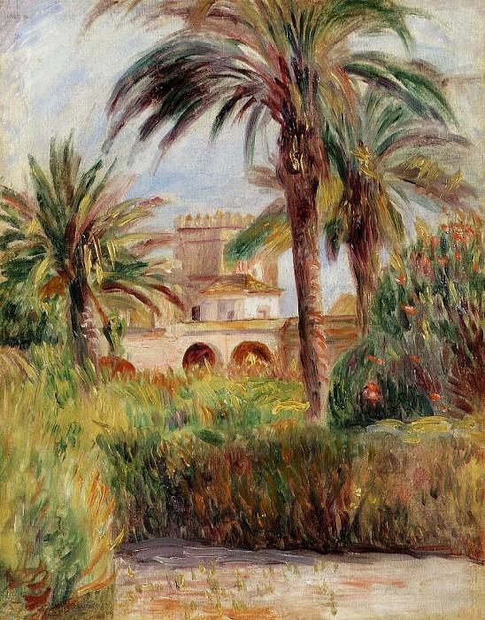 The Test Garden in Algiers - 1882. Pierre-Auguste Renoir