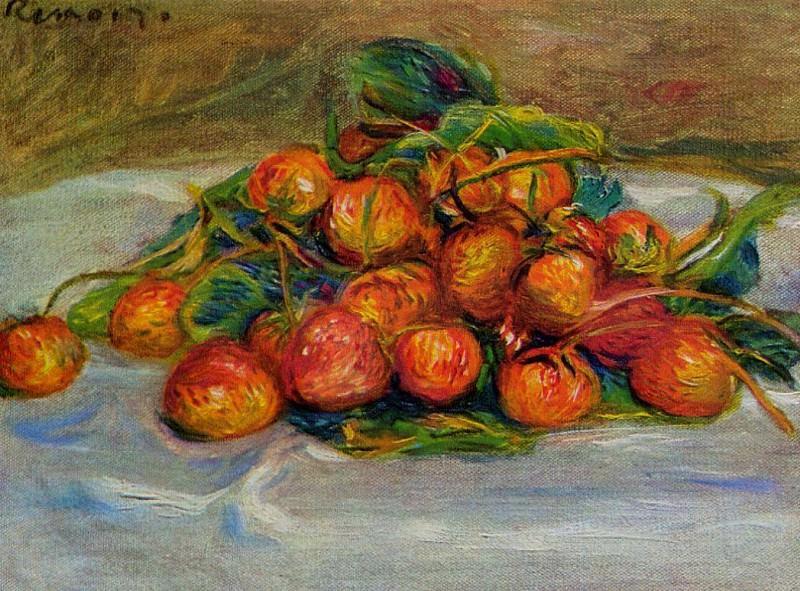 Strawberries - 1914. Pierre-Auguste Renoir