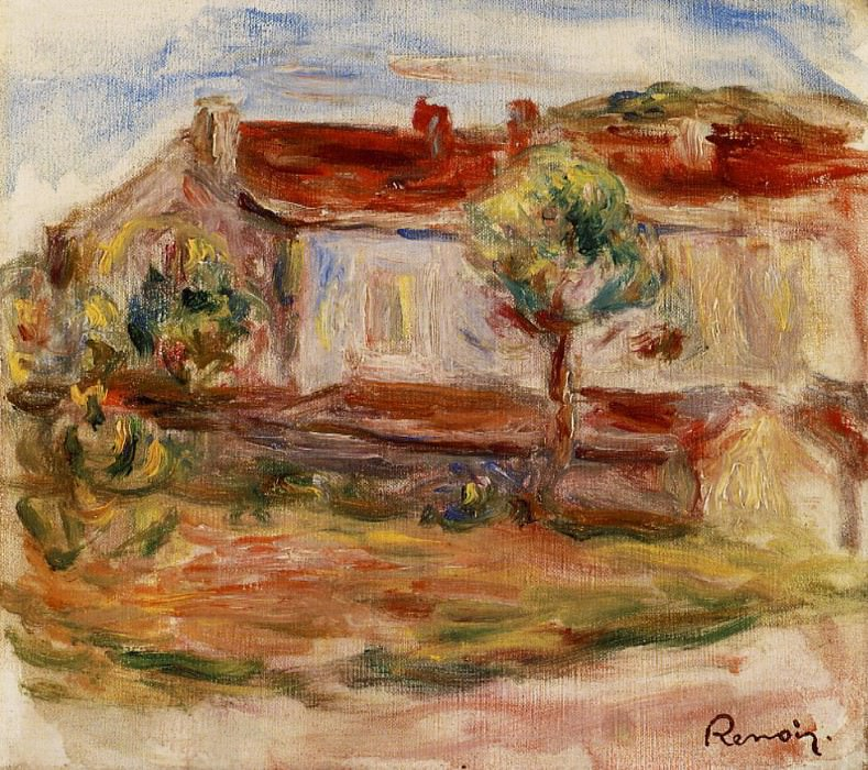 White House - 1915. Pierre-Auguste Renoir