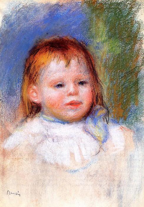 Portrait of Jean Renoir - 1895. Pierre-Auguste Renoir