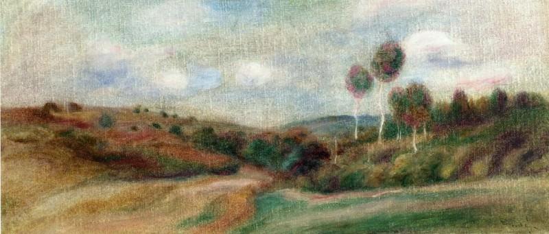 Landscape5 - дата не известна. Pierre-Auguste Renoir