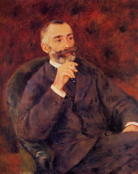 Paul Berard - 1880. Pierre-Auguste Renoir