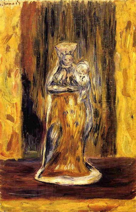 Earthenware Virgin and Child. Pierre-Auguste Renoir