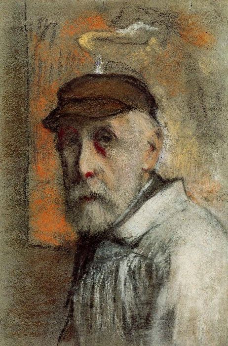 Self Portrait. Pierre-Auguste Renoir