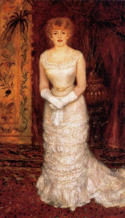 Jeanne Samary - 1878. Pierre-Auguste Renoir