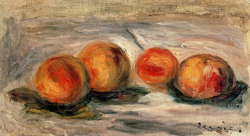 Peaches. Pierre-Auguste Renoir