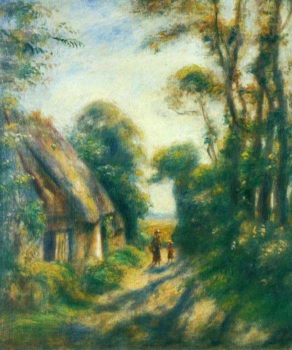Near Berneval - 1898. Pierre-Auguste Renoir