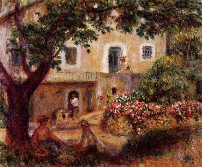 The Farm - 1914. Pierre-Auguste Renoir