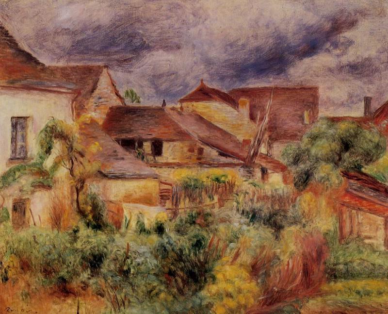 Essoyes Landscape - 1894. Pierre-Auguste Renoir