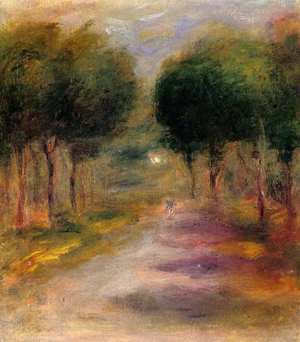 Landscape with Trees. Pierre-Auguste Renoir
