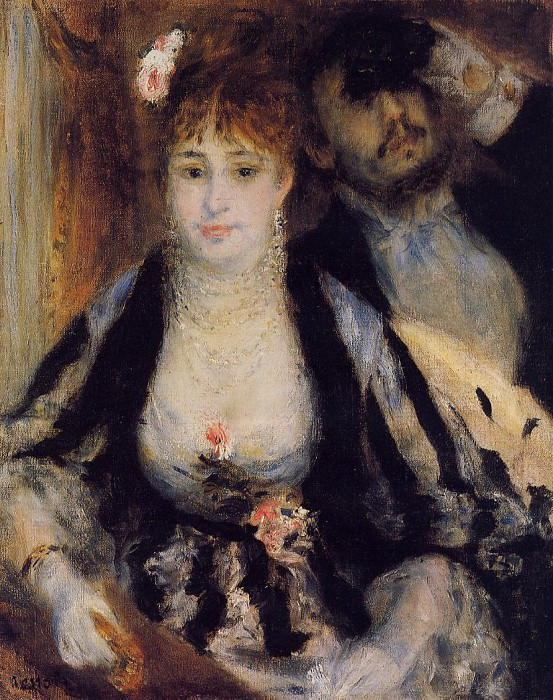 The Theater Box - 1874. Pierre-Auguste Renoir