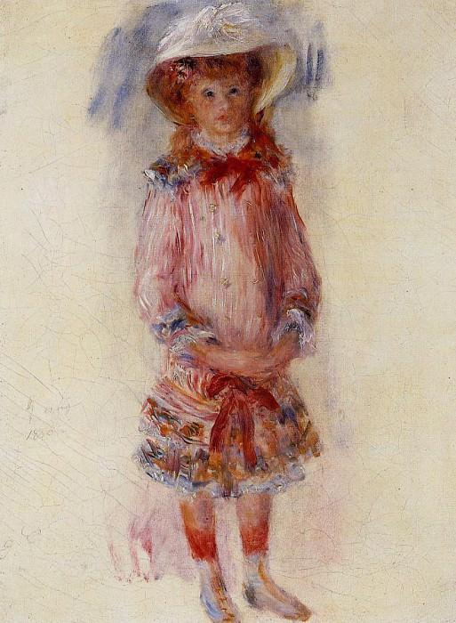 Georgette Charpentier Standing. Пьер Огюст Ренуар