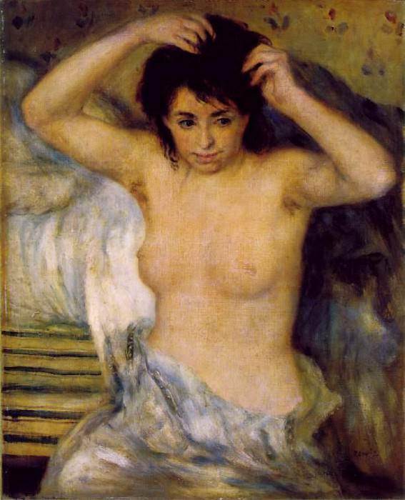 Torso (also known as Bust of a Woman) - 1873 - 1875. Pierre-Auguste Renoir