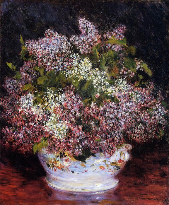 Bouquet of Flowers - 1878. Pierre-Auguste Renoir
