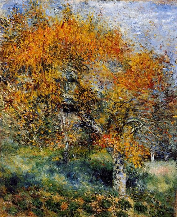 The Pear Tree - 1880 - 1889. Pierre-Auguste Renoir