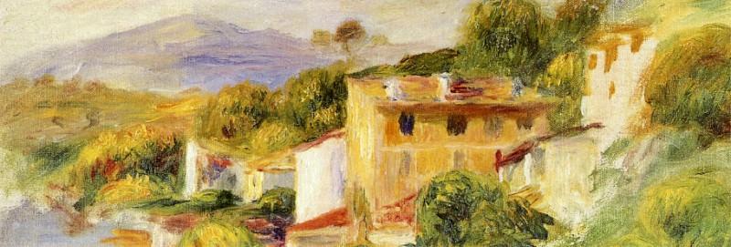 Coastal Landscape - 1904. Pierre-Auguste Renoir