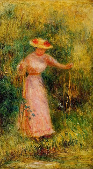 The Swing - 1895. Pierre-Auguste Renoir