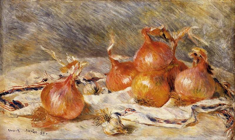 Onions - 1881. Pierre-Auguste Renoir