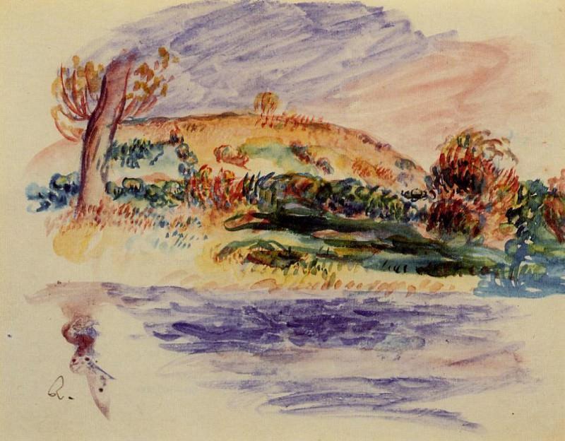 Landscape 1. Pierre-Auguste Renoir