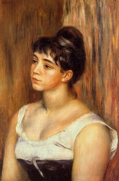 Suzanne Valadon - 1885. Pierre-Auguste Renoir