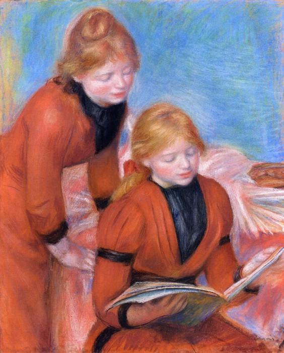 Reading - 1889. Pierre-Auguste Renoir