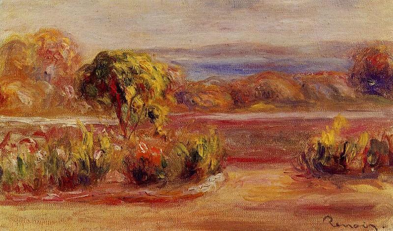 Midday Landscape. Pierre-Auguste Renoir
