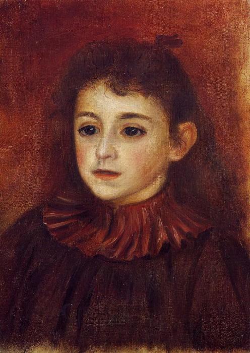 Mademoiselle Georgette Charpentier - 1878. Pierre-Auguste Renoir
