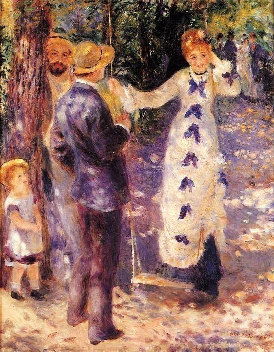 The Swing - 1876. Pierre-Auguste Renoir