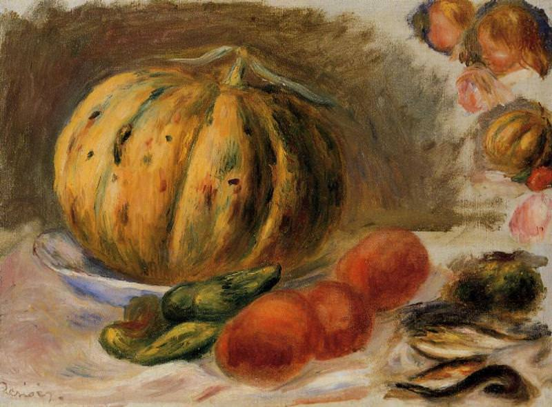 Melon and Tomatos - 1903. Пьер Огюст Ренуар