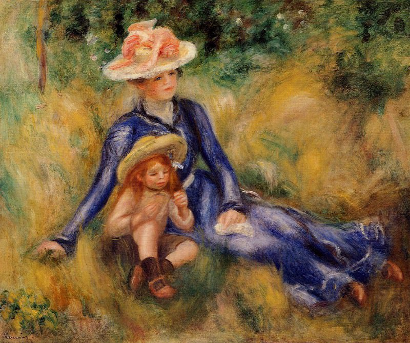 Yvonne and Jean - 1899. Pierre-Auguste Renoir