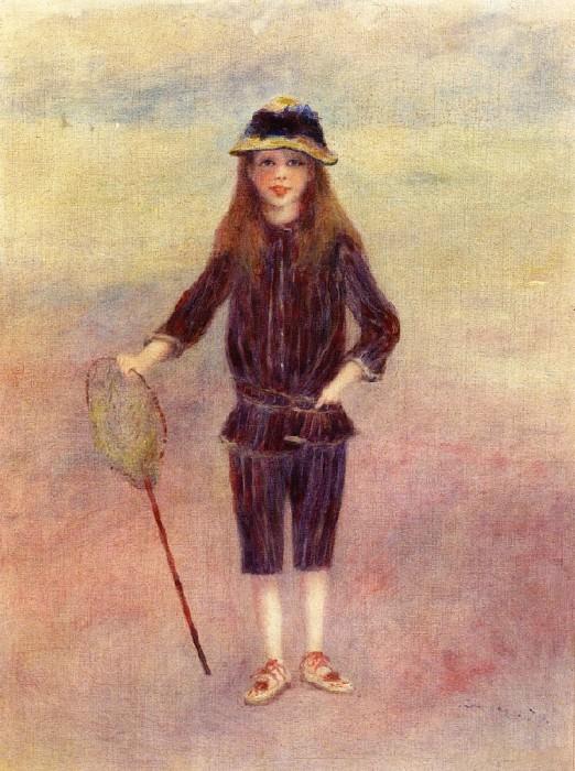 The Little Fishergirl - 1879. Pierre-Auguste Renoir