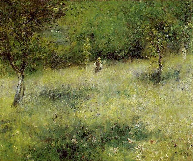 Spring at Catou - 1872 - 1873. Pierre-Auguste Renoir