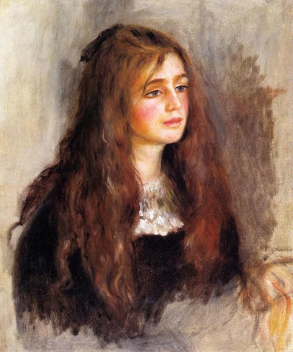 Julie Manet - 1894. Pierre-Auguste Renoir