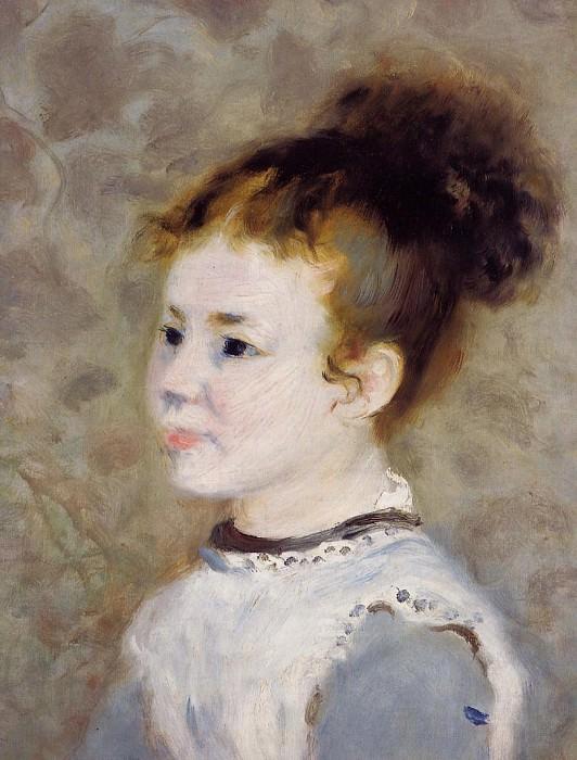 Jeanne Sisley. Pierre-Auguste Renoir