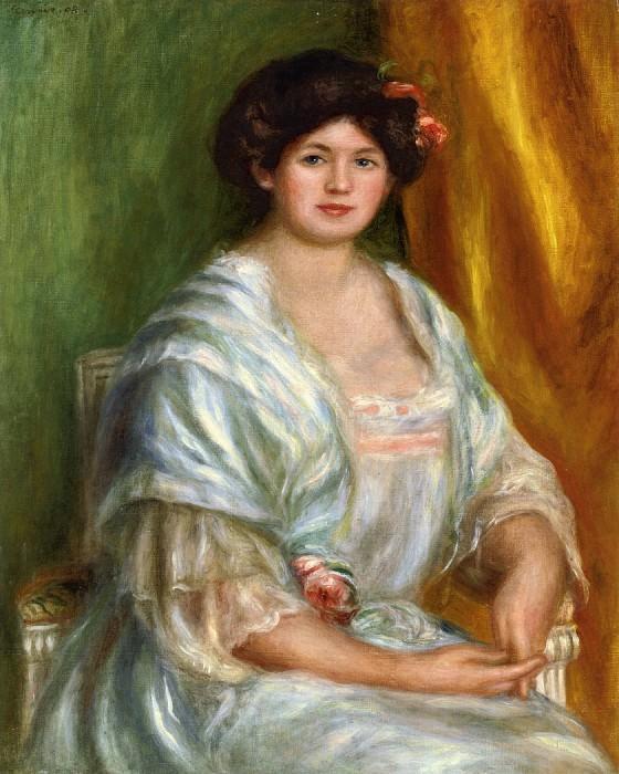 Madame Thurneyssen - 1908. Pierre-Auguste Renoir