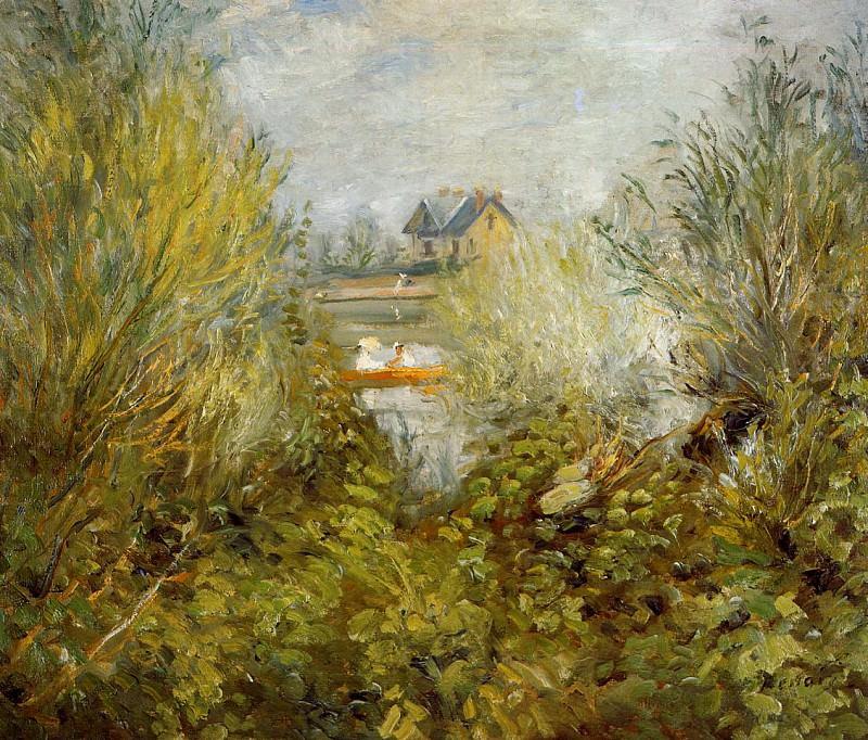 On the Seine, near Argenteuil - 1874. Pierre-Auguste Renoir
