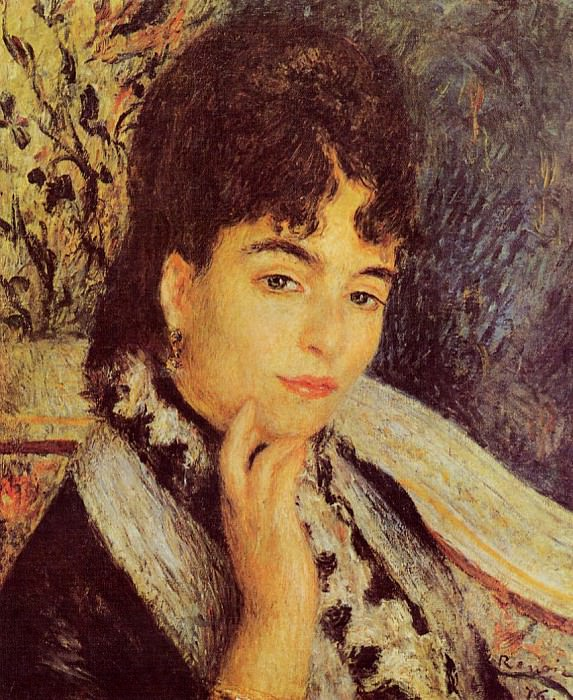 Madame Alphonse Daudet - 1876. Pierre-Auguste Renoir