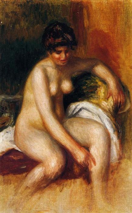 Woman in an Interior. Pierre-Auguste Renoir