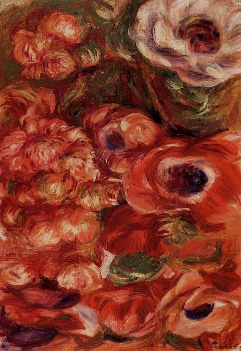 Anemonies. Pierre-Auguste Renoir