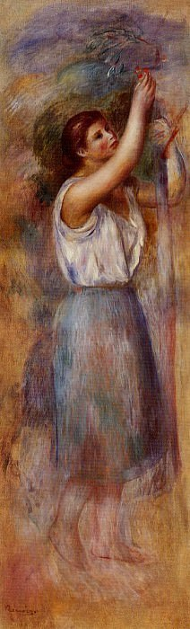 Study of a Woman - 1890. Pierre-Auguste Renoir