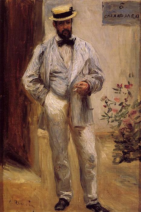 Charles le Coeur - 1874. Пьер Огюст Ренуар