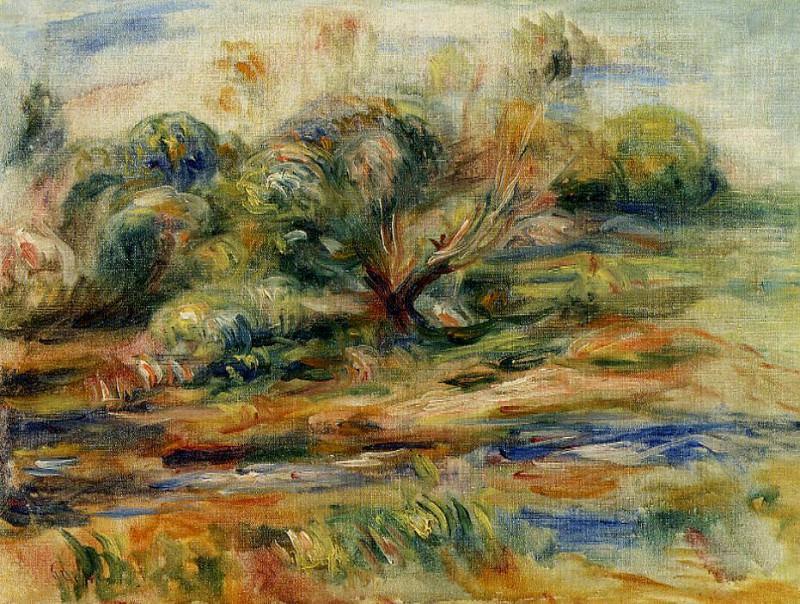 Landscape - 1900. Pierre-Auguste Renoir