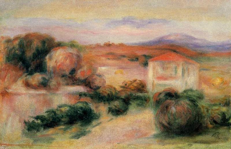 White Houses - 1910. Pierre-Auguste Renoir