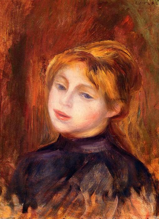 Catulle Mendez - 1888. Pierre-Auguste Renoir