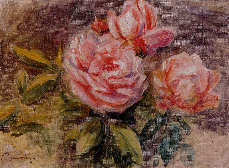 Roses - 1904 - 1910. Pierre-Auguste Renoir