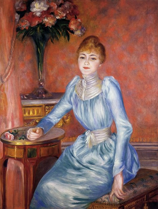 Madame Robert de Bonnieres - 1889. Pierre-Auguste Renoir