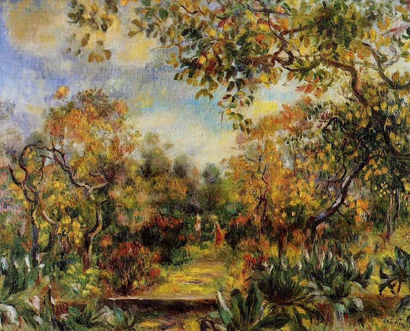 Beaulieu Landscape - 1893. Пьер Огюст Ренуар