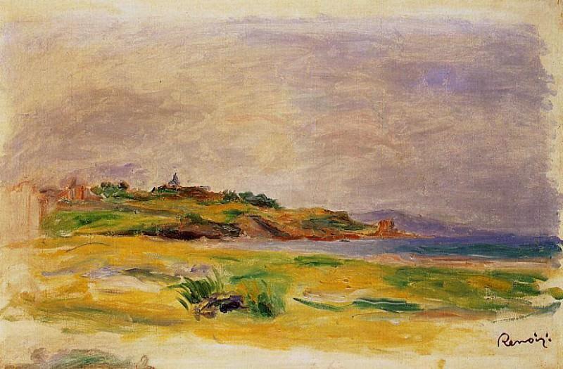 Cagnes Landscape - около 1900-1910. Pierre-Auguste Renoir